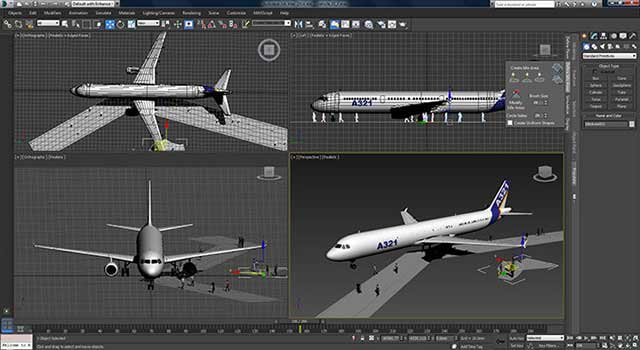 3ds max screen preview