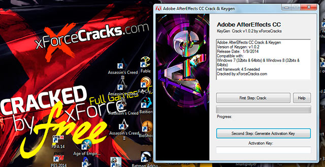 AfterEffects CC 2014 crack-v102
