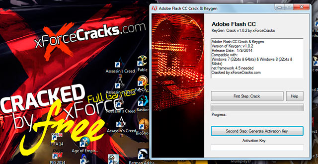 FLASH CC-2014 crack-v102 by xforce