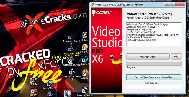 Video Studio ProX6 Crack by XforceCracks