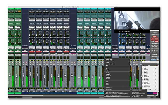 wide range of filters and plugins