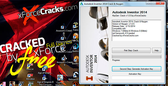 inventor 2014 cracked by xforce