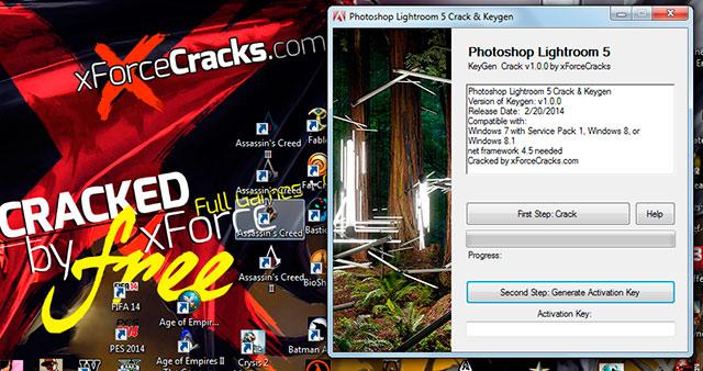 Lightroom 5 cracked by xforce v1.0.0