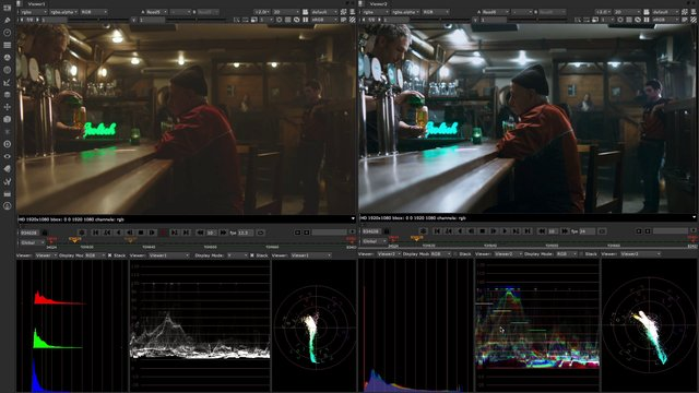 Nuke 8 Video Composition Preview
