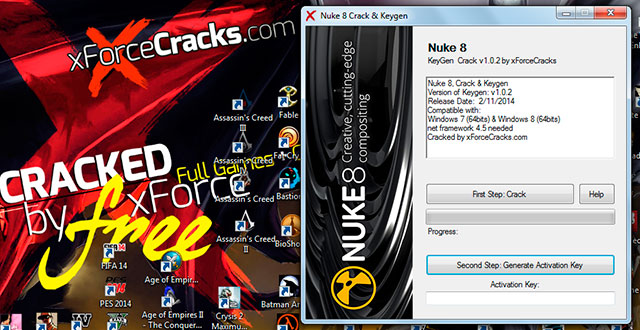 Nuke 8 Cracked by xforce