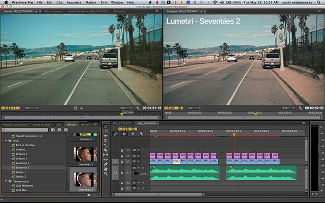 Premiere pro CC workspace