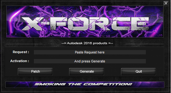 AutoCAD 2016 Keygen X-force