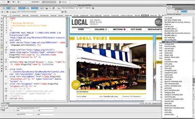 New visual editing features