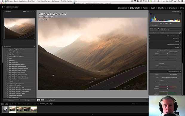 New landscape screen