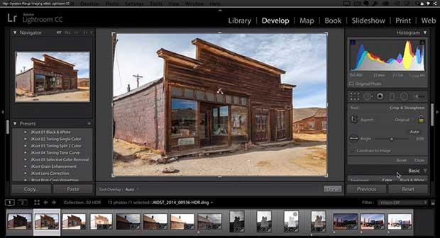 Photoshop Lightroom CC 6 Develop Navigator