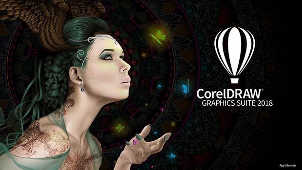 Coreldraw 2018 front