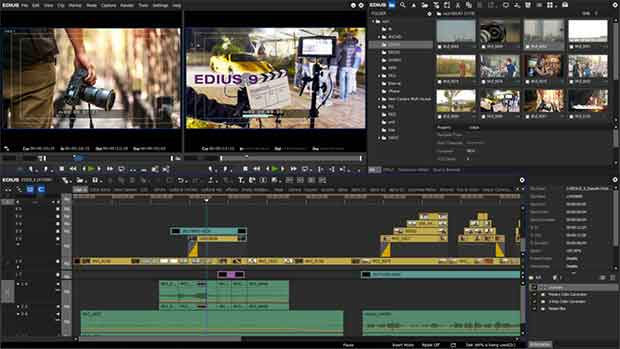 Work natively with many different video formats