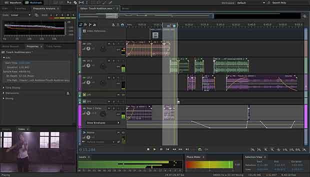 Edit, mix, record, and restore audio