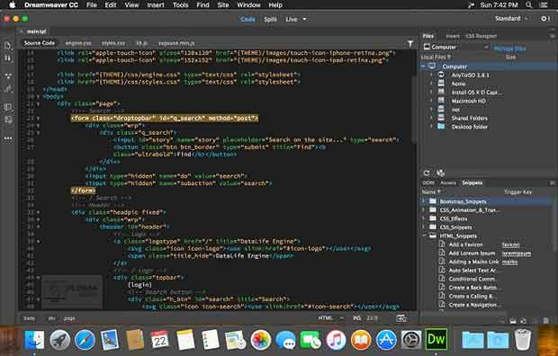 Quickly create and publish web pages almost anywhere with web design software